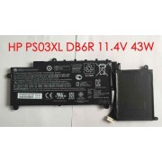 11.4V 43WH HP Stream x360 11-p099nf, 787520-005 ps03xl Battery