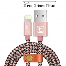 Fast Apple iPhone Charging Cable USB Syncing Charging Cord for iPhone 7 6 6s 5S SE,iPad Air Mini,iPod Nano -Rose Gold  Apple iPhone Charger Lightning Cable Free shipping!